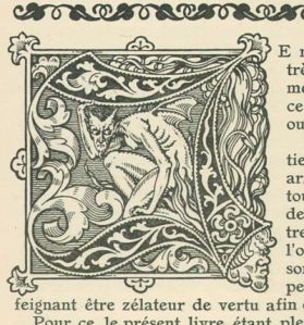 Medieval woodcut. Image courtesy www.cvltnation.com