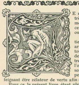 Medieval woodcut. Image courtesy www.cvltnation.com