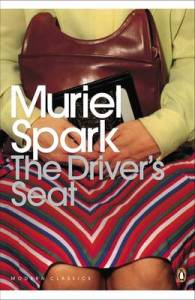 Cover image of The Driver's Seat by Muriel Spark for Mean Fiction by Malin James
